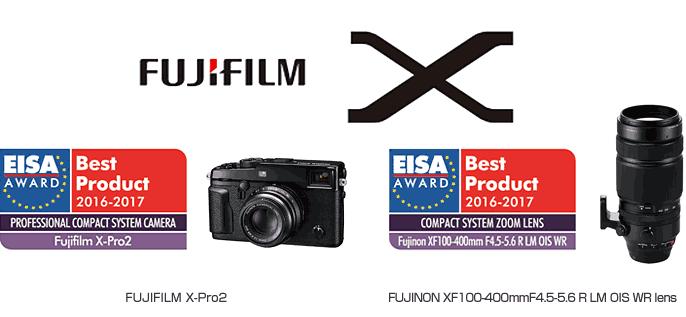 Premios EISA 2016 Fujifilm