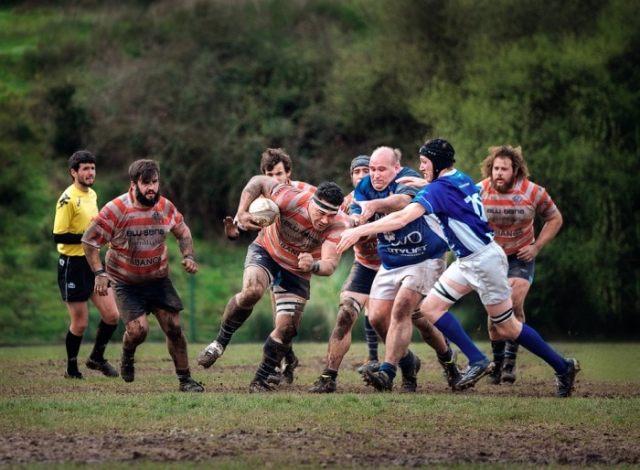 Fotografía de rugby con X-T1 + XF 50-140mm f/2.8 por Osmel García.