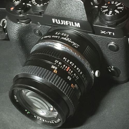 X-T1+ Zhongyi Lens Turbo II