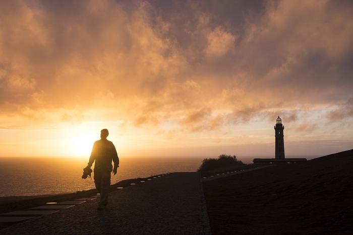 """""""Atardecer en el volcán dos Capelinhos, isla de Faial (Azores)"""" por Sapiens, con Fuji X-T1 y 18-55mm."""
