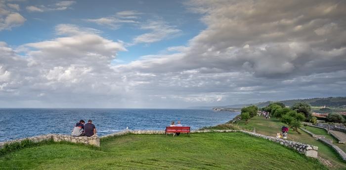 """""""Paseo de San Pedro"""" por Raúl Cillero, con Fujifilm X-E2."""
