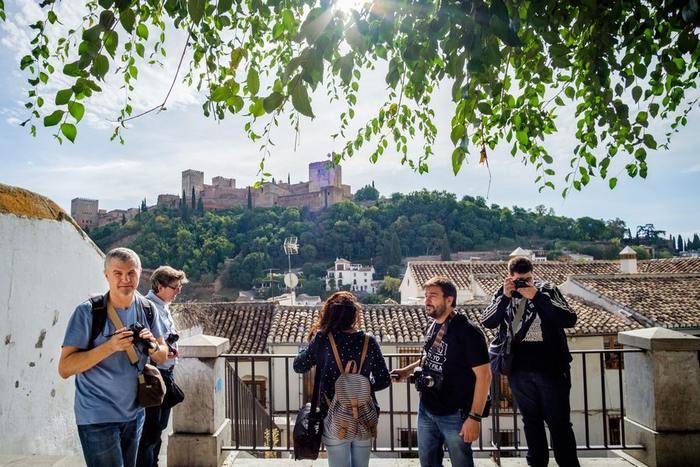 Vistas a la Alhambra, por Jon Díez.