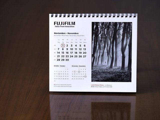 Calendario Fujifilm 2016 con fotografía de Jordi Renart Roca.