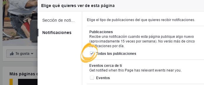 Marcar todas las notificaciones de Fujistas en FB.