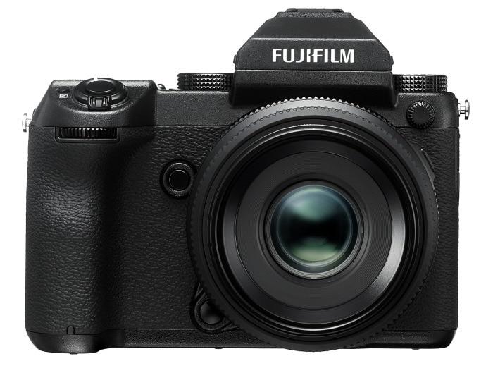 Fujifilm GFX 50S de frente.