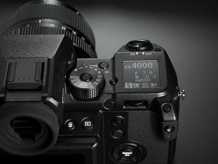 Detalle pantallita GFX 50S