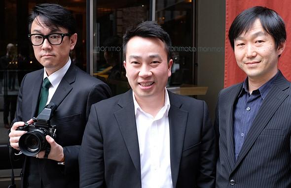 Makoto Oishi, Billy Luong and Yuji Igarashi de Fujifilm