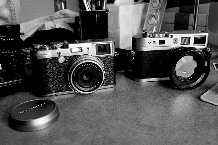 Fuji frente a Leica.