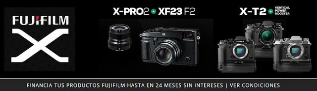 Financiación sin intereses de productos Fujifilm en ECI.