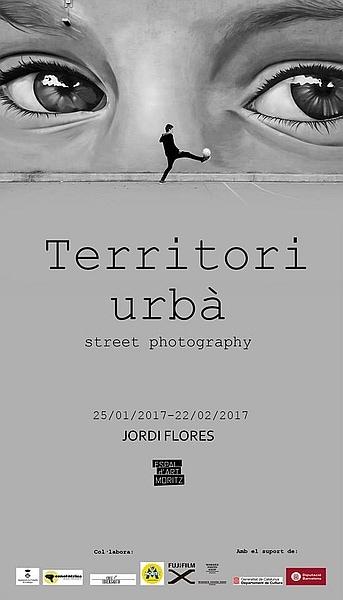 """""""Territori urbà"""" de Jordi Flores."""