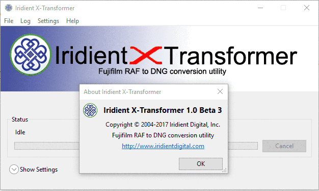 Iridient X-Transformer 1.0 Beta 3