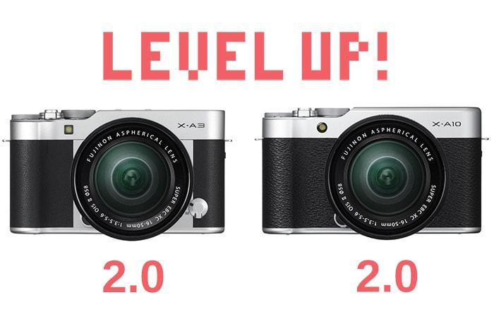 Actualizacion de firmware 2.0 para X-A10 y X-A3.