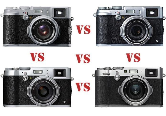 X100 vs X100S vs X100T vs X100F