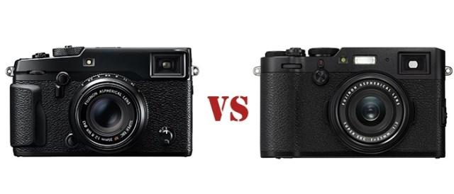 X-Pro2 vs X100F