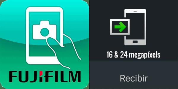 Recibir de Fujifilm Camera Remote