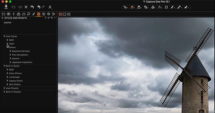 Capture One Pro 10.1