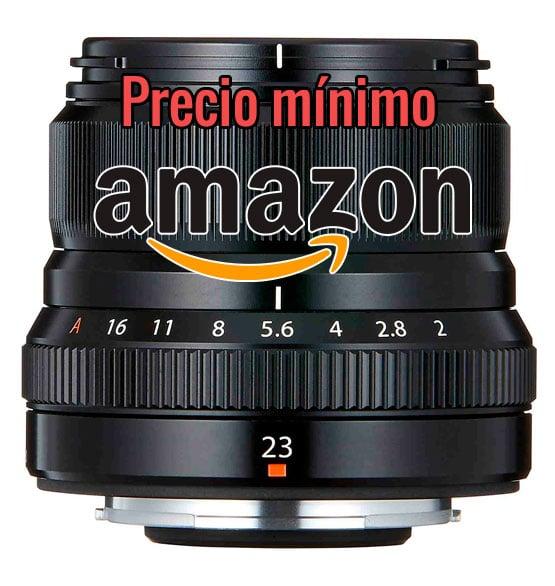 Precio mínimo Fujinon XF 23mm F2 R WR.