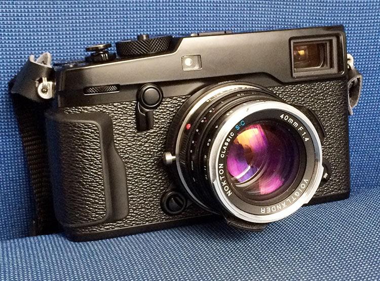 X-Pro2 con el Nokton 40mm f/1.4 (Leica M)