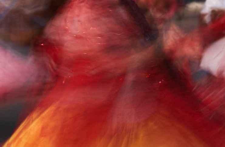 """""""Movimiento y color"""" por Gerard Alís. X-T1."""