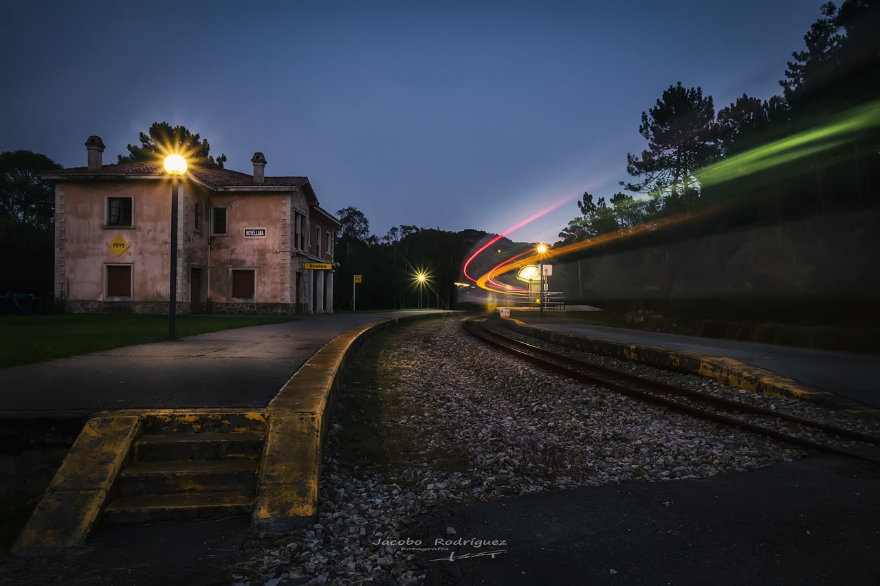 """The last station"" por Jacobo Rodríguez. X-T1 + XF 10-24mm F4."