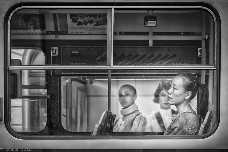 """""""Tranvías de Praga"""" por Virgilio Hernando. Fuji X-Pro2 + XF 35mm F2 R WR."""
