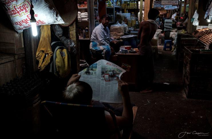 """""""Suburbios en Yangón"""" por Jose Carpin. X-T2 + XF 16mm F1.4 R WR."""