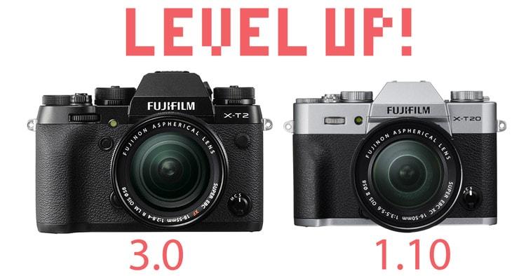 Firmware X-T2, X-T20