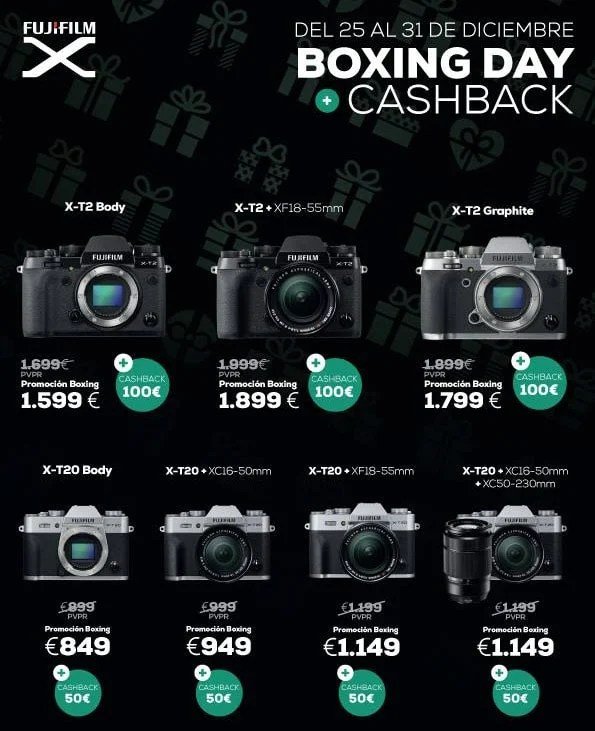Oferat Fujifilm Boxing Day