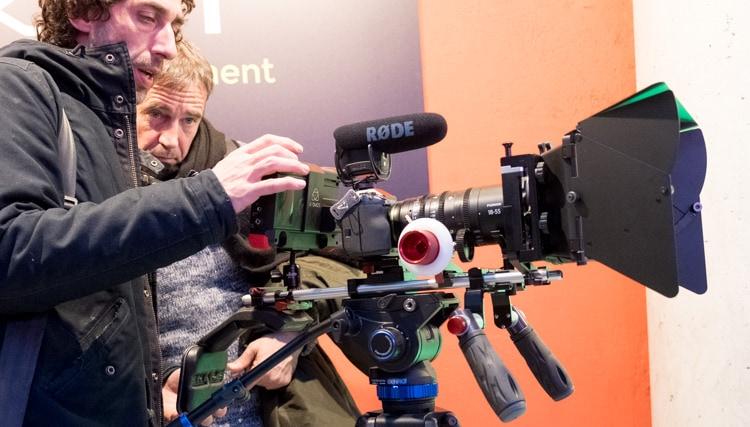 Fujifilm X-H1 para grabación de vídeo.