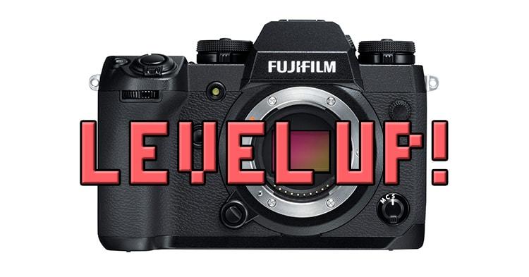 Actualización de firmware 1.01 para la Fujifilm X-H1.