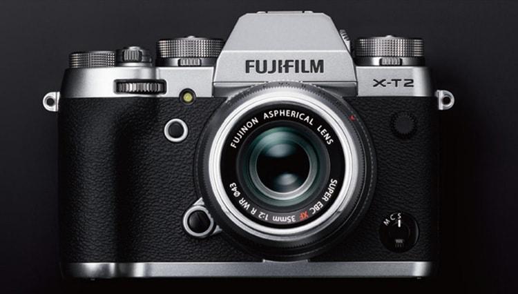 Fujifilm X-T2 Silver.