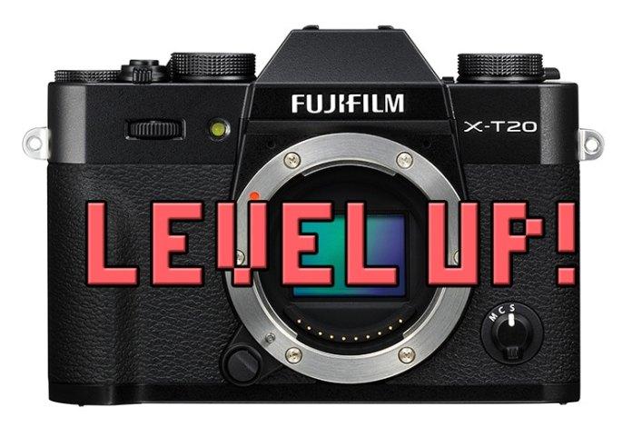 Firmware 2.00 Fujifilm X-T20