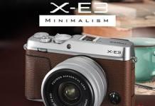 Fujifilm X-E3 marrón
