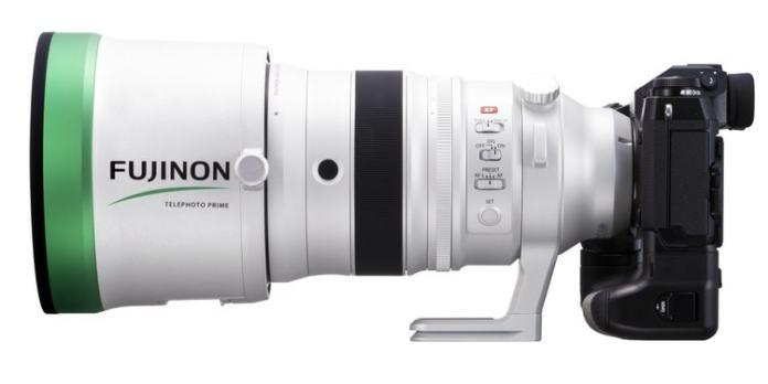 Fujinon XF 200mm F2 + X-H1.
