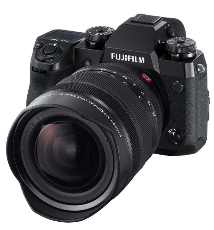 Fujifilm X-H1 + XF 8-16mm F2.8.