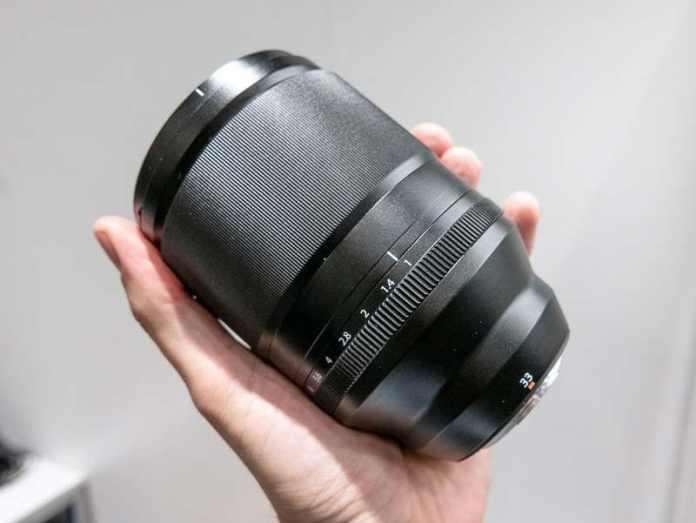 Fujinon XF 33mm F1 R WR.