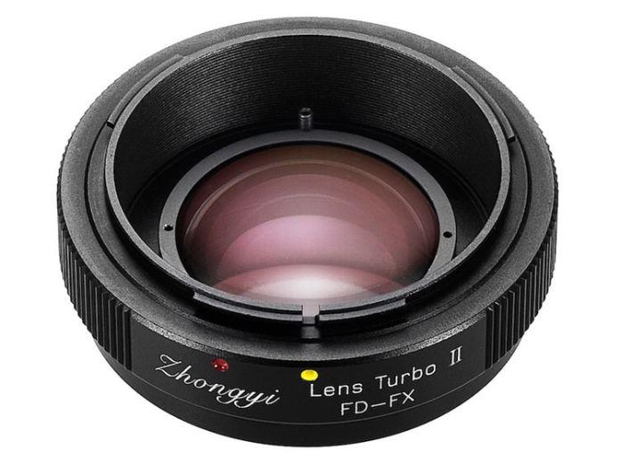 Adaptador Zhongyi Lens Turbo II Canon FD - Fuji X.
