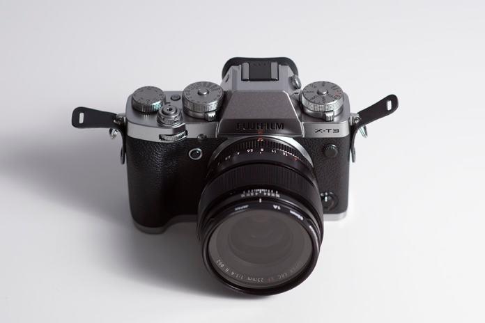 Fujifilm X-T3 detalle.