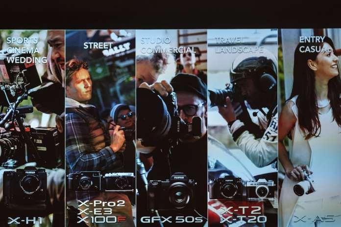 Perfiles de usuarios de Fujifilm.