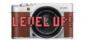 Firmware Fujifilm X-A5.