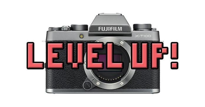 Firmware para la Fuji XT100