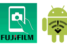 Errores de Fujifilm Camera Remote en Android.
