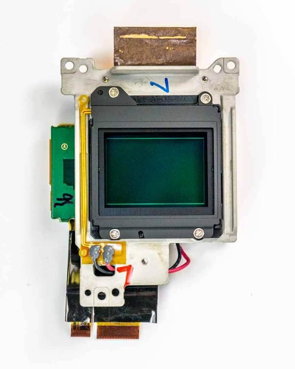 Sensor de la Fuji X-T3.