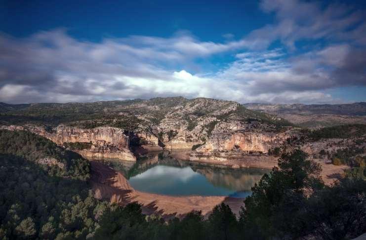 """Embalse de Santolea (Teruel)"" por Jose Manuel Galindo. Fujifilm X-H1 + Fujinon XF 10-24mm f/4 R OIS."