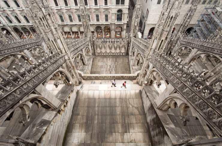"""""""Vértigo en el Duomo"""" por Guillermo Vayá. Fujifilm X-T10 + Samyang 12mm f/2."""