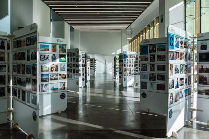 "Exposcición colaborativa ""Printlife"" en Barcelona."