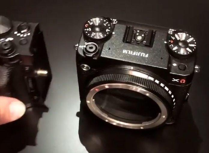 X-Omega, cámara GFX de diseño modular.