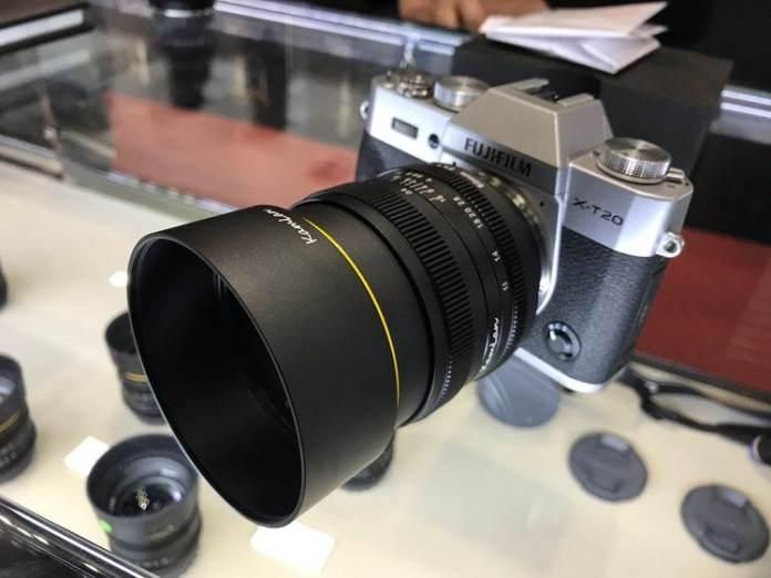 Fuji X-t20 + Kamlan 50mm f/1.1 mark II.