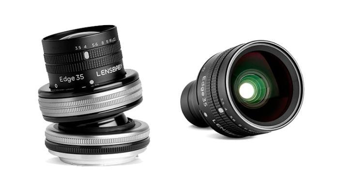 Lensbaby Composer Pro II con óptica Edge 35mm