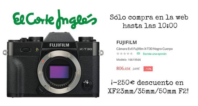 Oferta Fuji X-T30 ECI